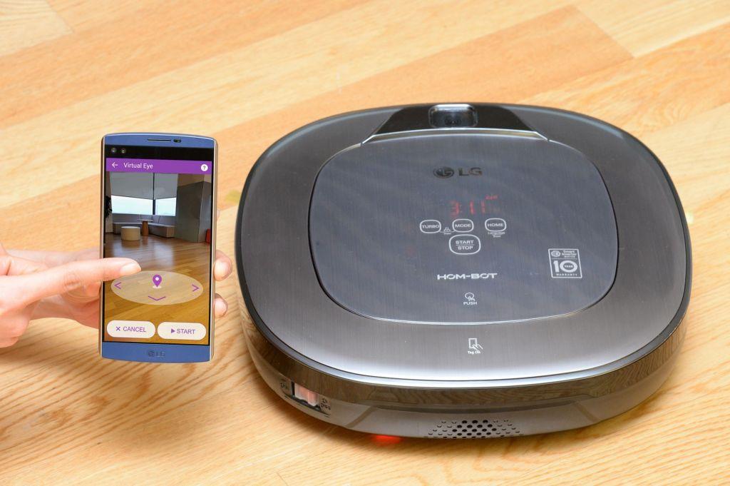 LG anuncia nueva aspiradora CordZero con realidad aumentada - lg-hom-bot-ux