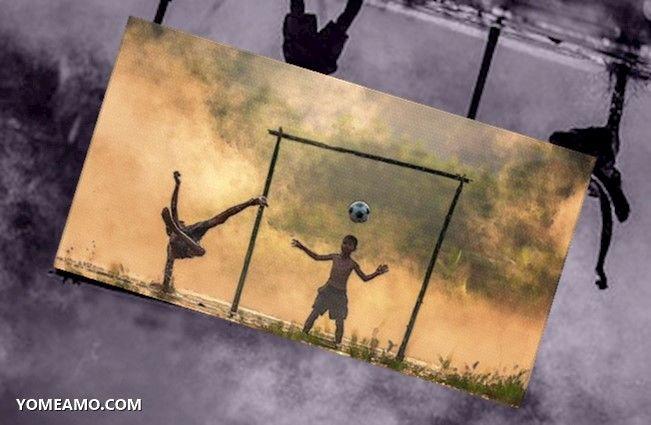 niños adversidad futbol