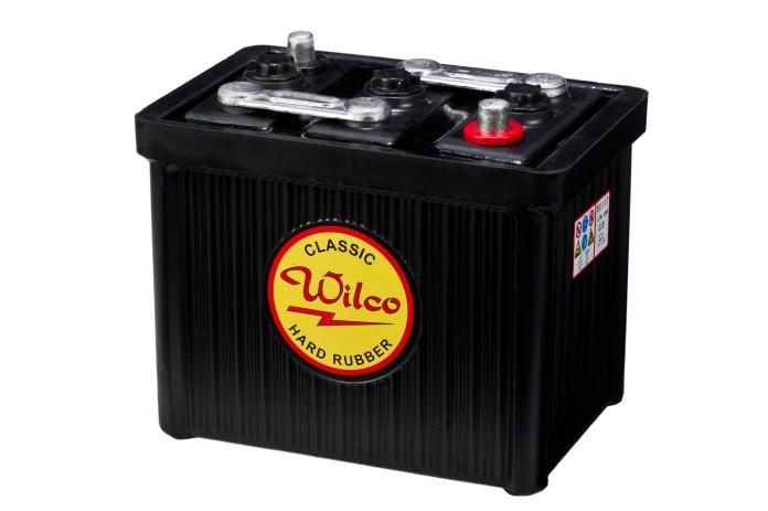 Battery Battery Vintage 6 Volt 120ah Jemax Jeeparts