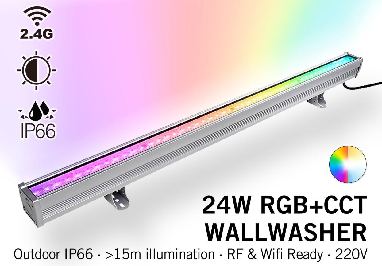 Mi·Light Milight Wall Washer RGB+Dual White - IP65 - 24Watt - 220Volt - 100CM