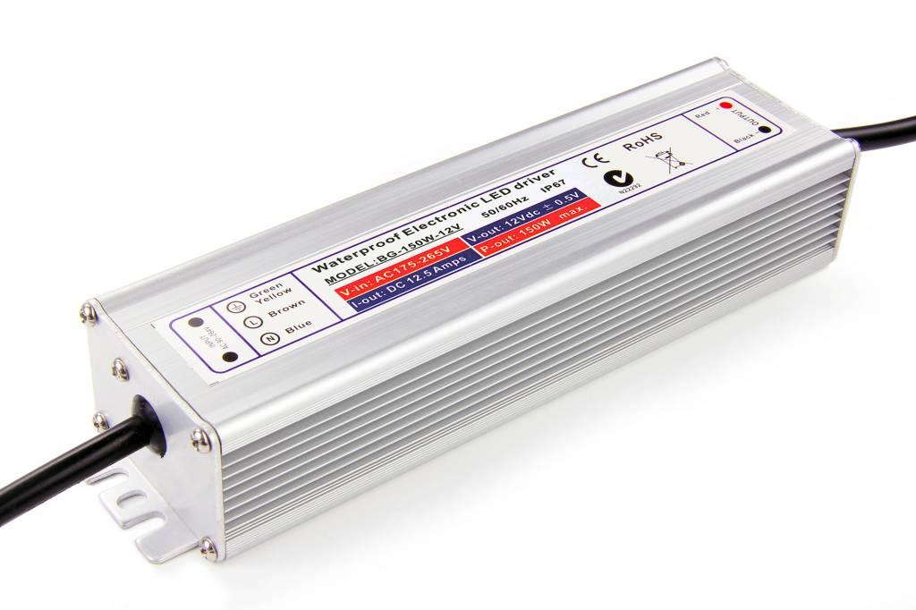 Waterdichte voeding DC 24V 150 Watt 6A - IP67