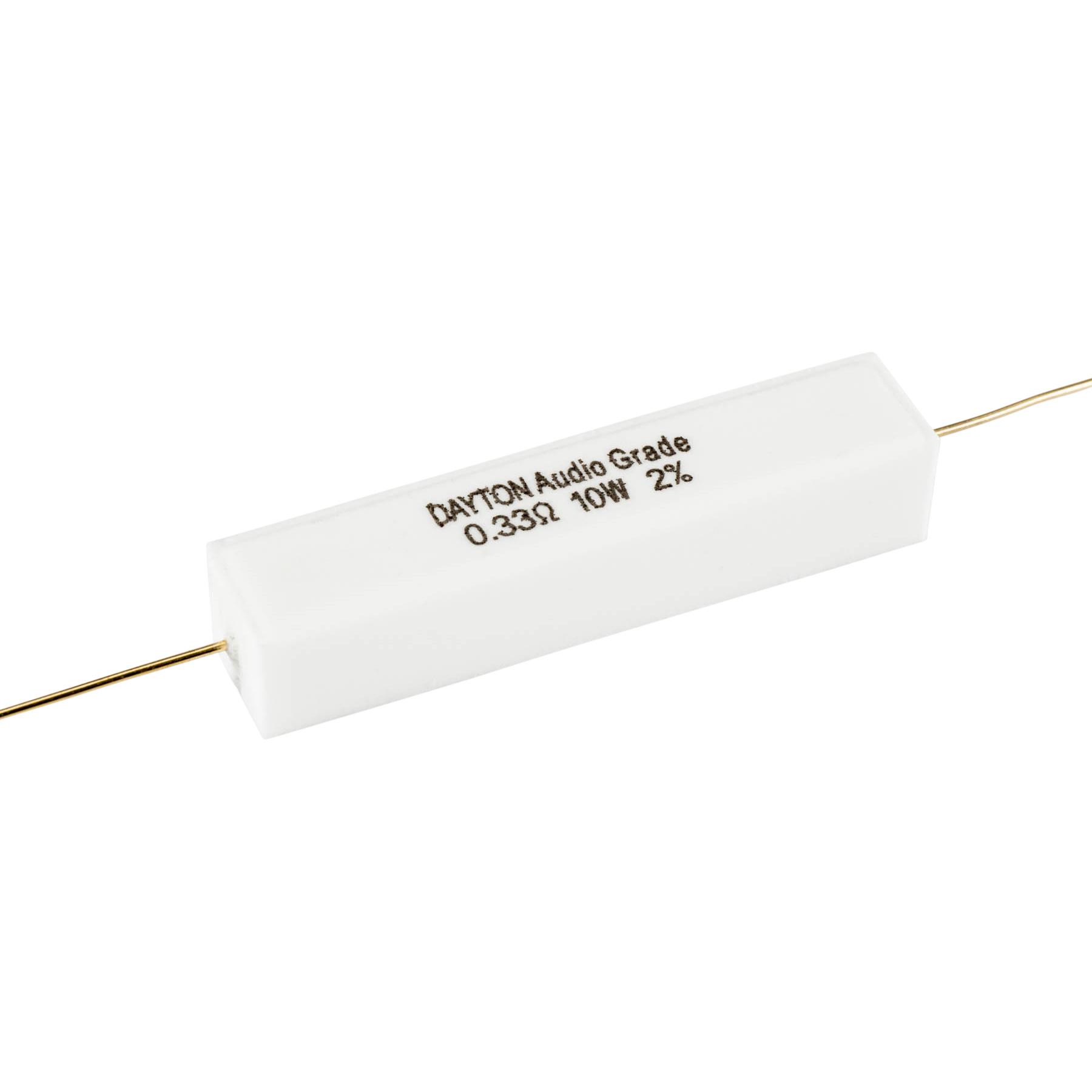 0 33 2 0 Ohm 2 10w Precision Audio Grade Resistor