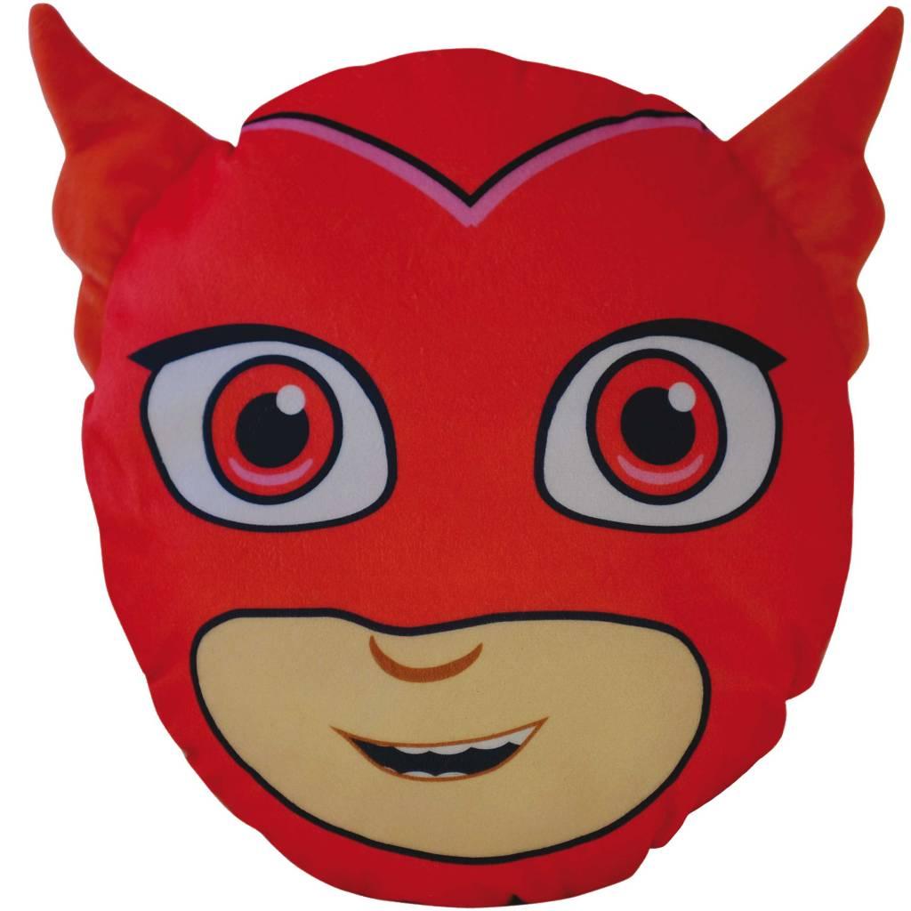 pj masks 3d owlette cushion 30 x 26 x 8 cm red