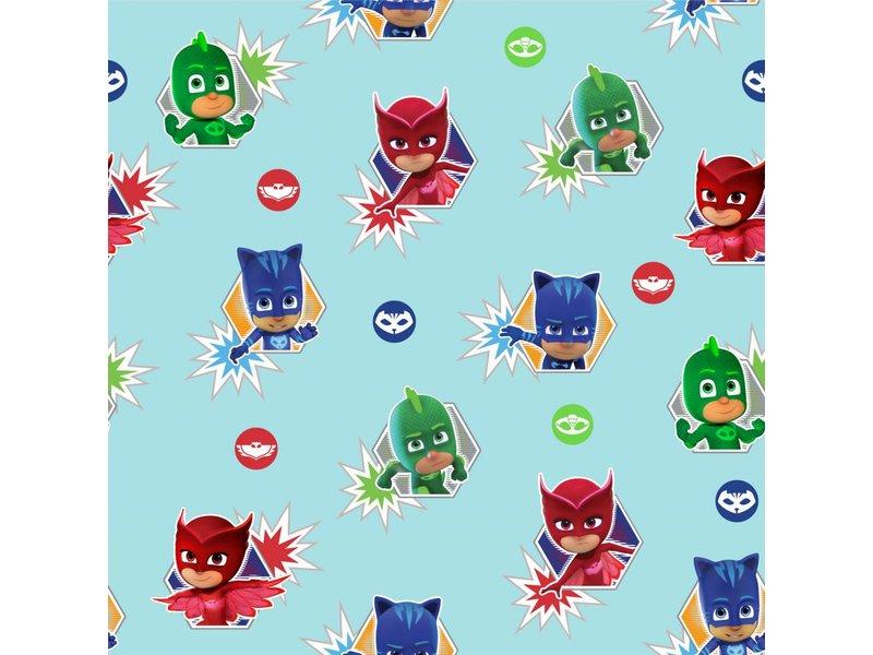 heroes wallpaper roll 10 meters x 53 cm multi