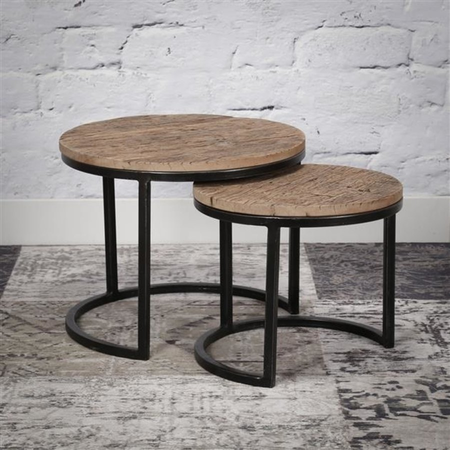 tables d appoint storm design industriel
