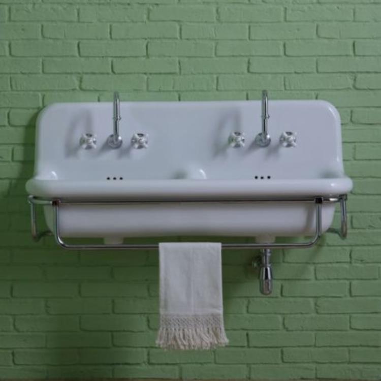 double washbasin industry