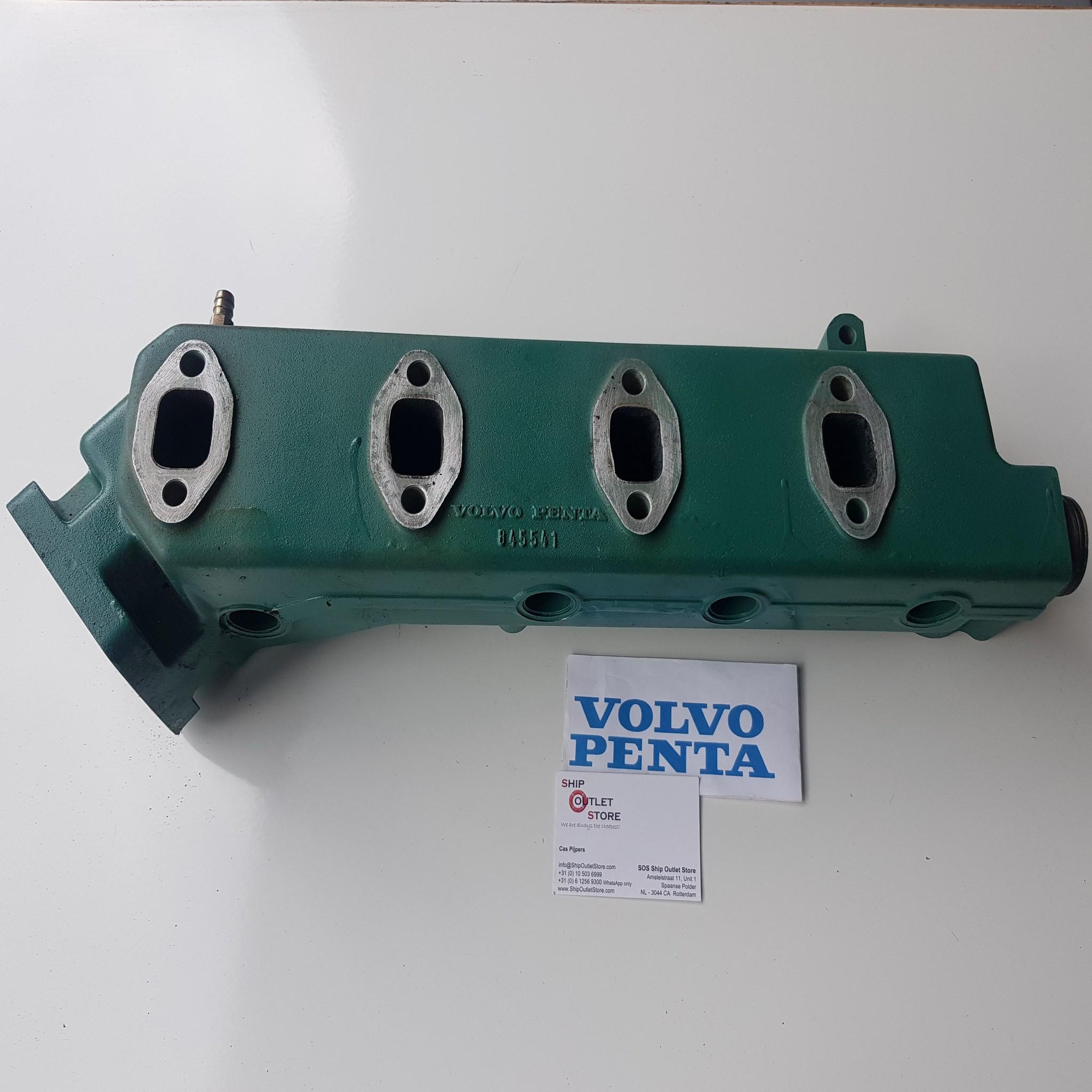 volvo penta 845541 exhaust manifold