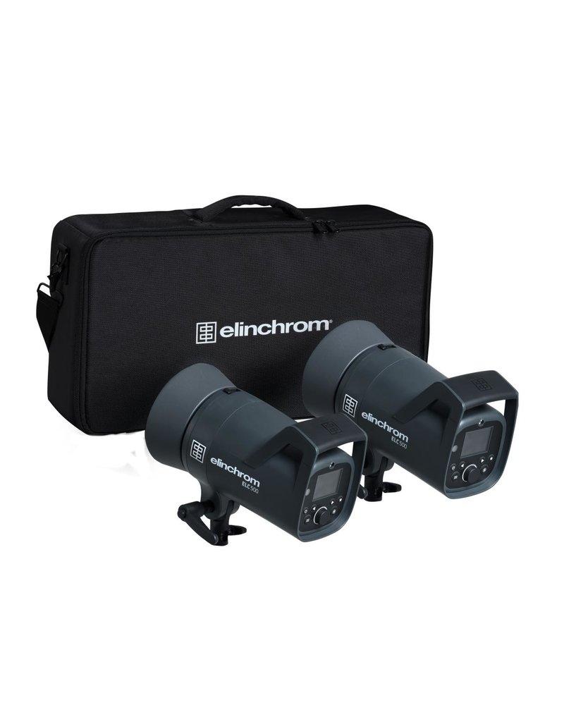elinchrom elinchrom elc dual 500 dual kit studio lamps