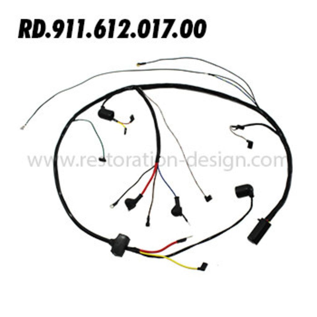 Rd 911 612 017 00 Engine Harness Motorola Alternator