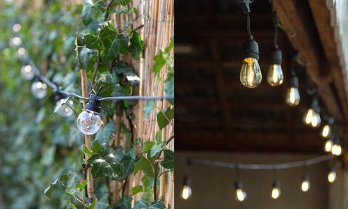 patio string lights cotton ball lights