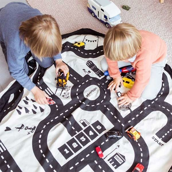 play and go tapis de jeu sac de rangement play and go autoroute