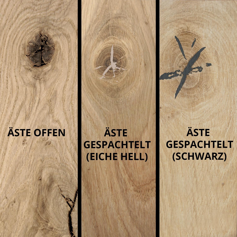 Leimholzplatte Eiche Massivholz Nach Mass 2 Cm Eichenholz Rustikal Eichenholzprofi