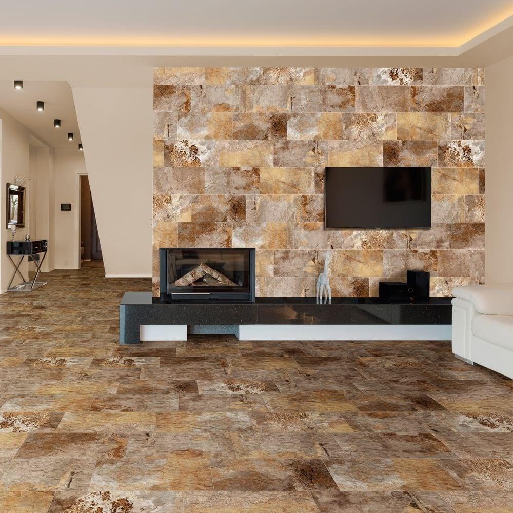 modesto bronze slate effect tiles