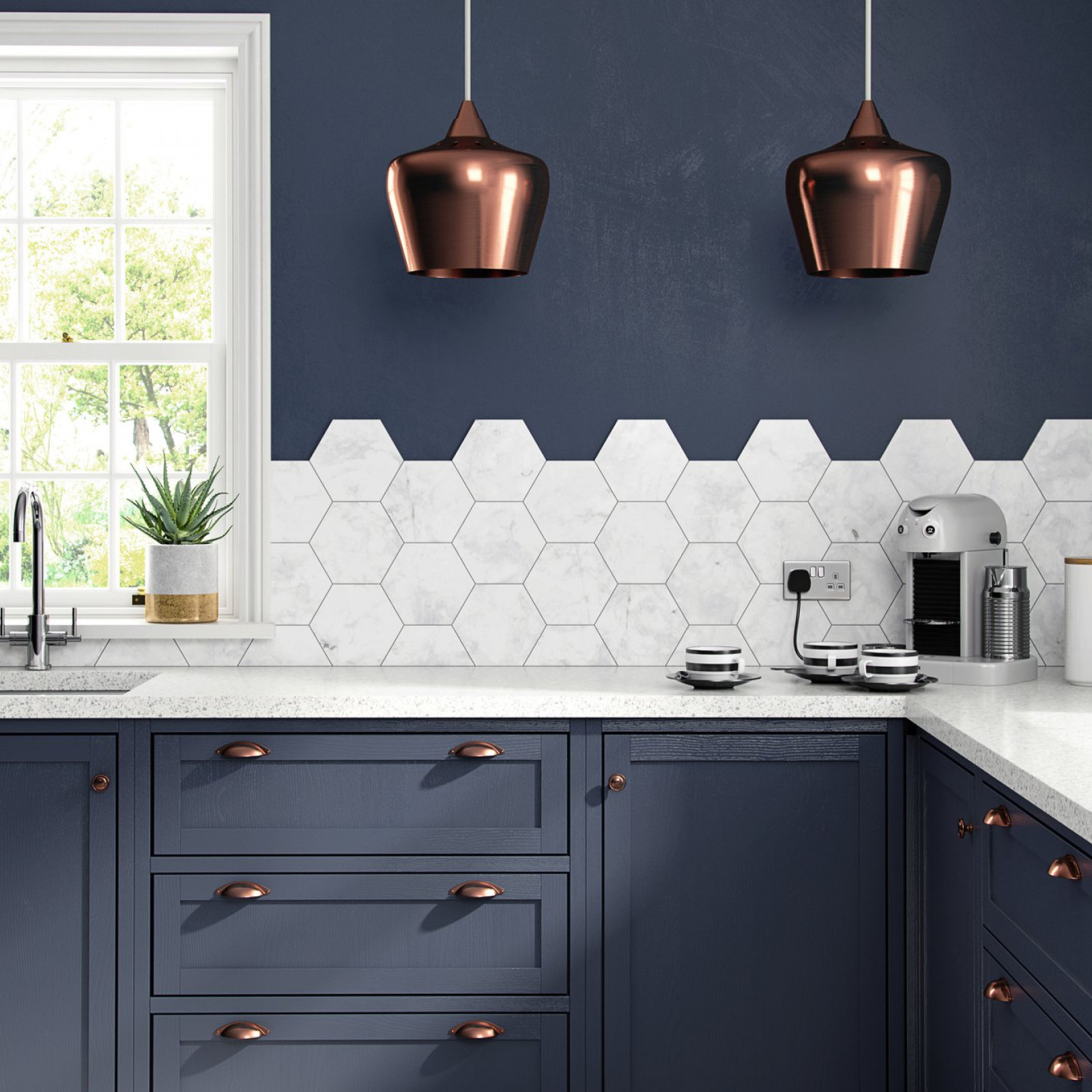british ceramic tiles bct48466 british ceramic tile hex white marble hexagon porcelain wall floor tile