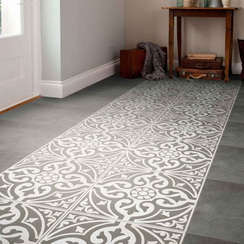 luxury tiles kingsbridge grey patterned wall and floor tiles 33 x 33cm