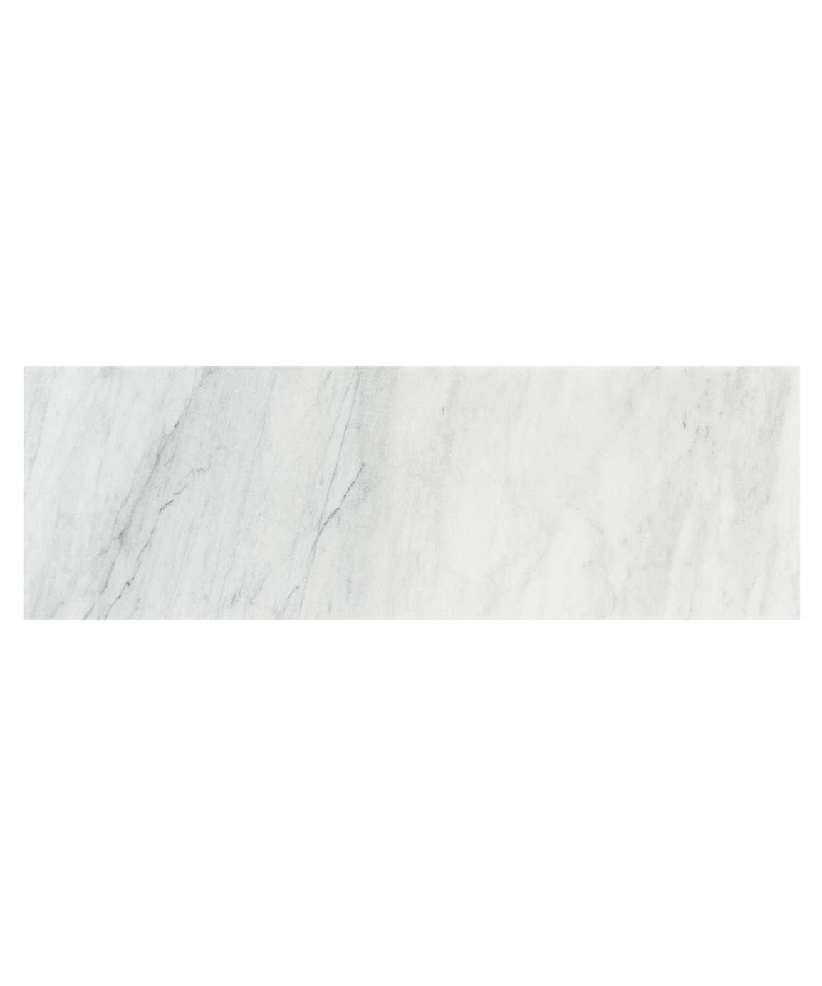 luxury tiles amasya white honed marble 45x15cm wall and floor tile