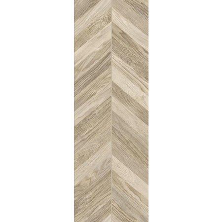 luxury tiles chevron light oak wood effect porcelain tile 15x90cm
