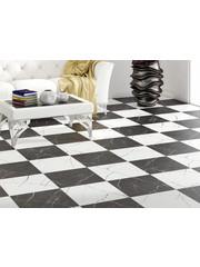black white checkered tiles luxury