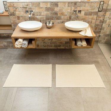 rhomtuft rhomtuft bath rug plain