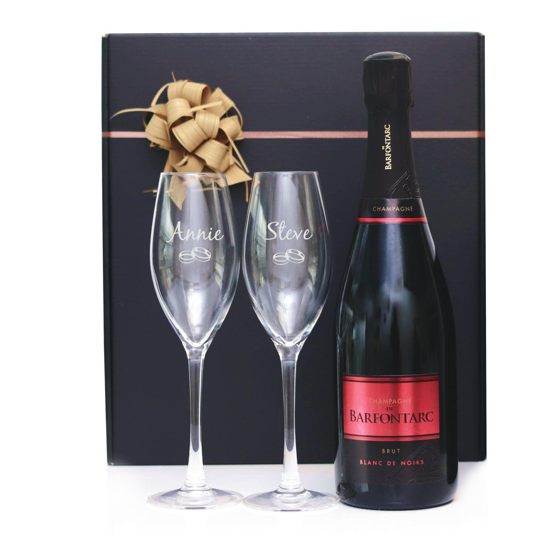 Champagne Cadeau Set Brialux met gravering