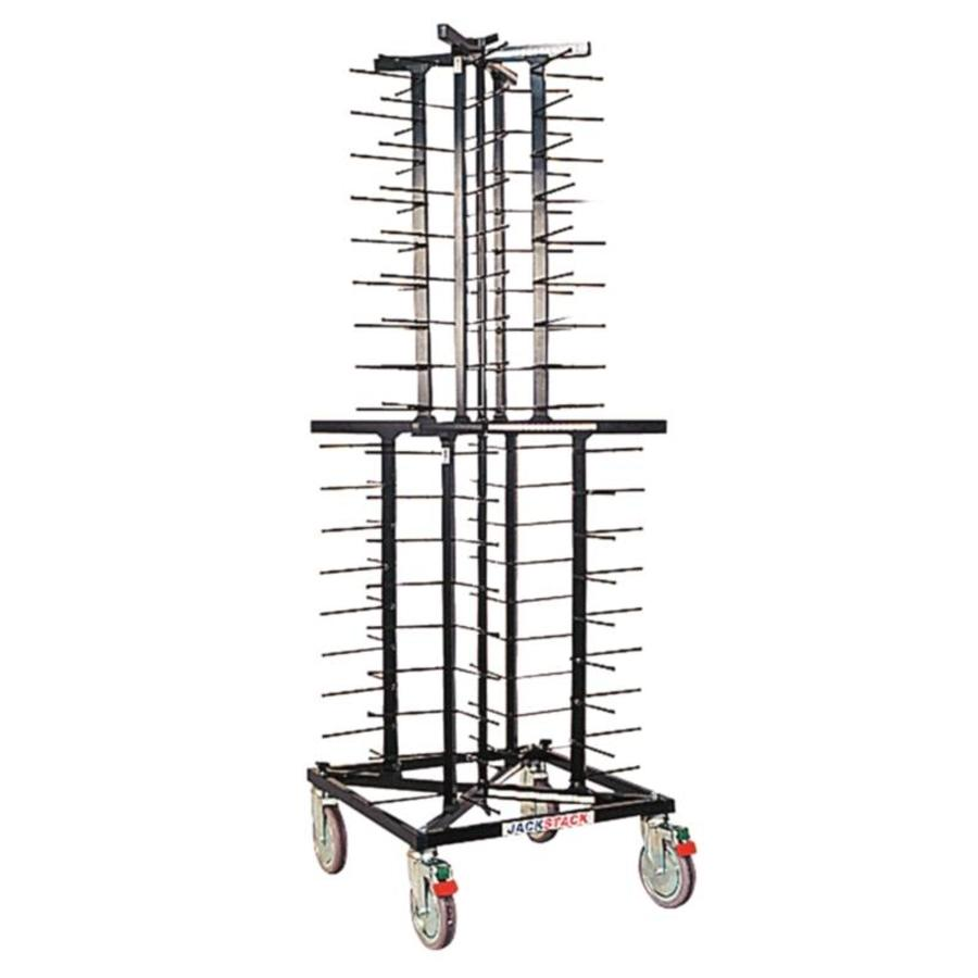 jackstack plate rack with wheels 72 signs