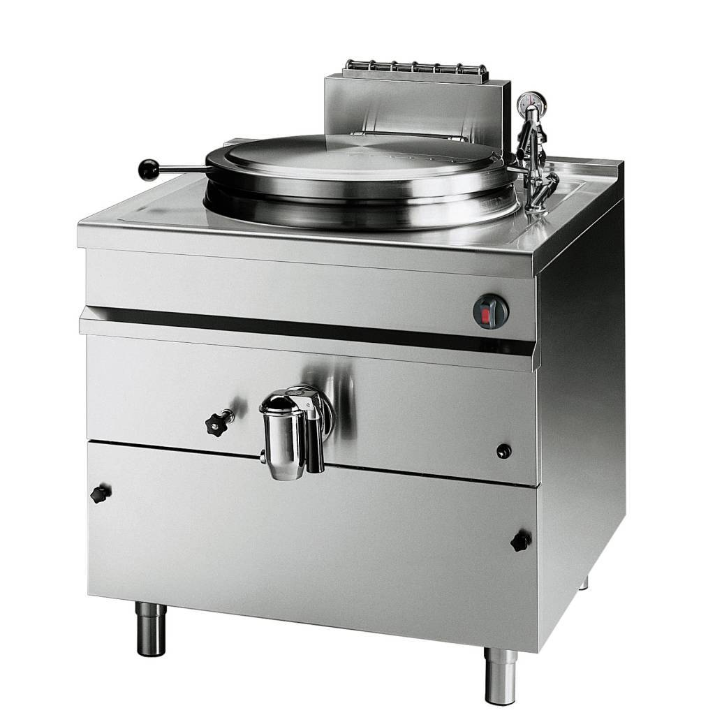 Gas Boiling Kettle Indirect Heating 150 Litres