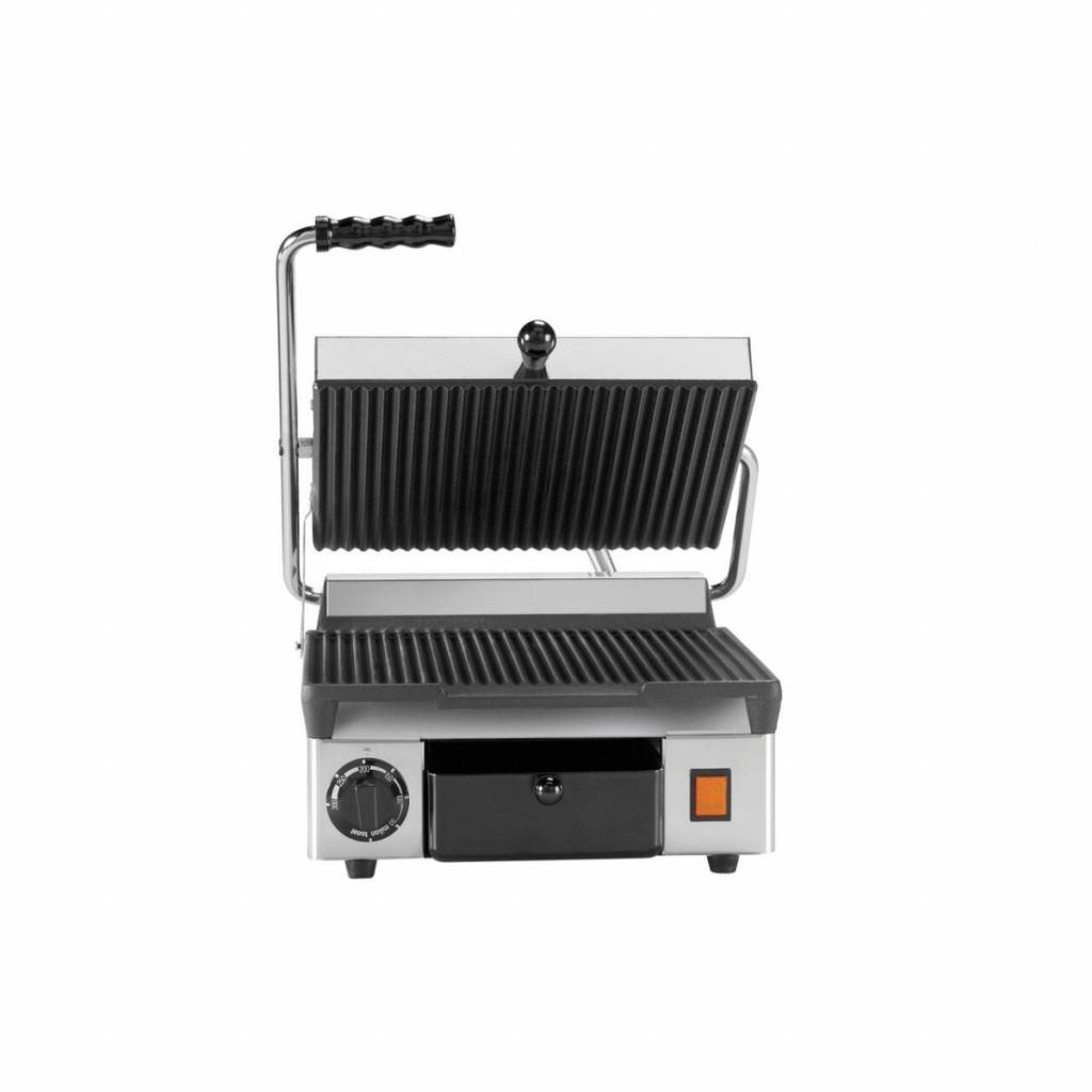Milan Toast Contact Grill Ribbed Only