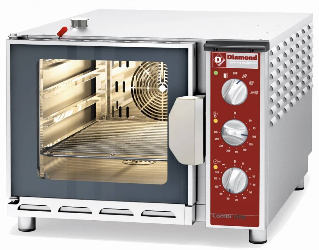 Diamond Hot Air Oven With Steam Function For 4x 1 1 Gn