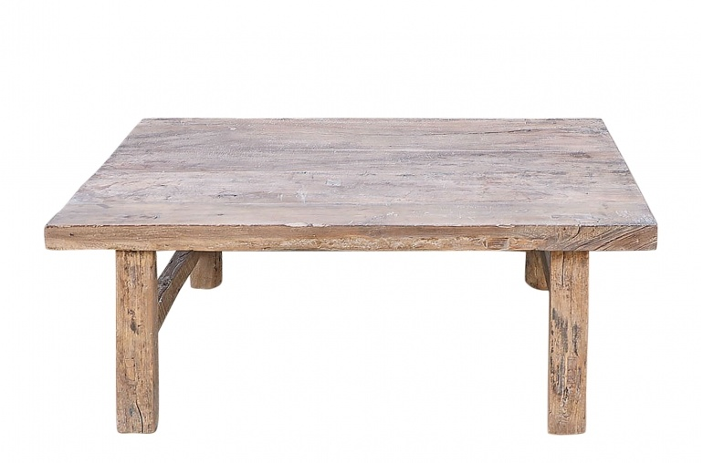 coffee table lounge raw wood 107x66xh43cm unique item