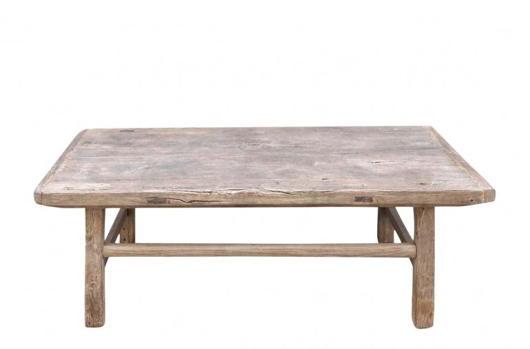 snowdrops copenhagen raw wood coffee table elm wood 114x64x43cm unique piece