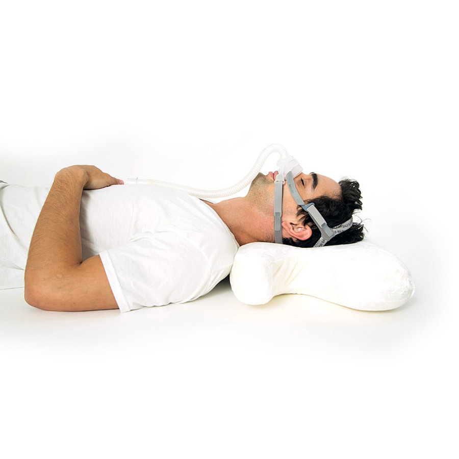 best in rest memory foam cpap pillow with cooling gel