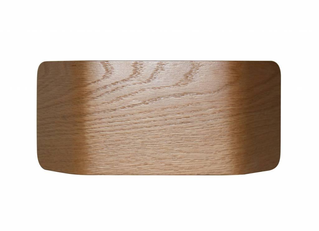 applique murale bois ou alu led 7 5w 221mm rectangulaire