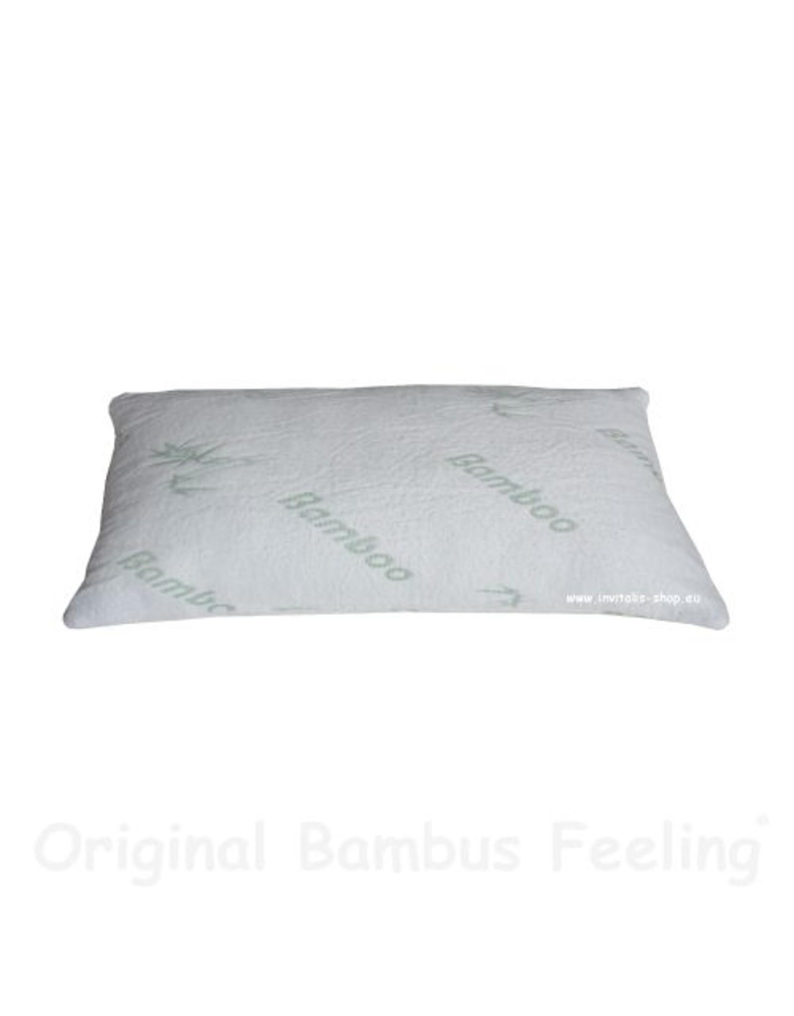 invitalis bamboo pillow 80x40cm
