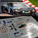 Audi R8 Lms Wrt Battlefield Tailormadedecals