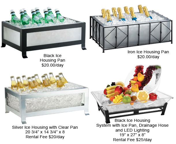 All City Party Supplies - ICE HOUSING/ICE BUCKETS