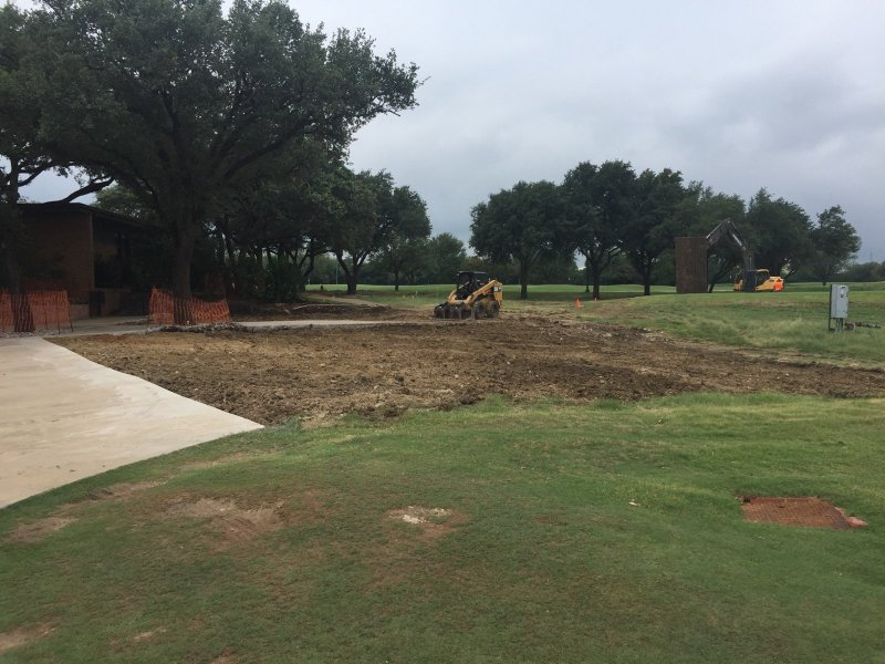 Project Gallery   Billy Nabors Demolition   Seagoville  TX MARIDOE GOLF CLUB