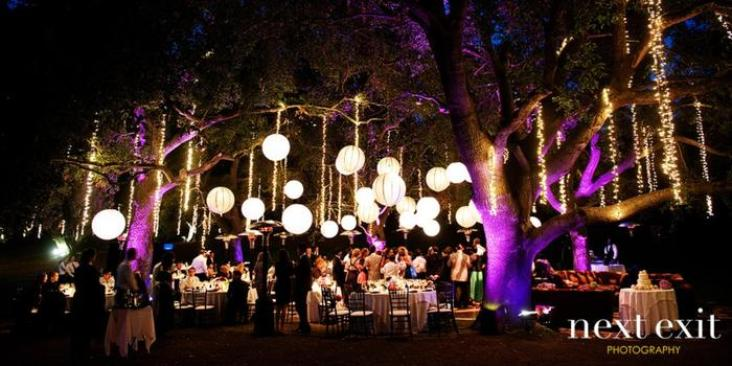 Garden Setting at Saddlerock Ranch | Event Catered by Made By Meg | preferred venues
