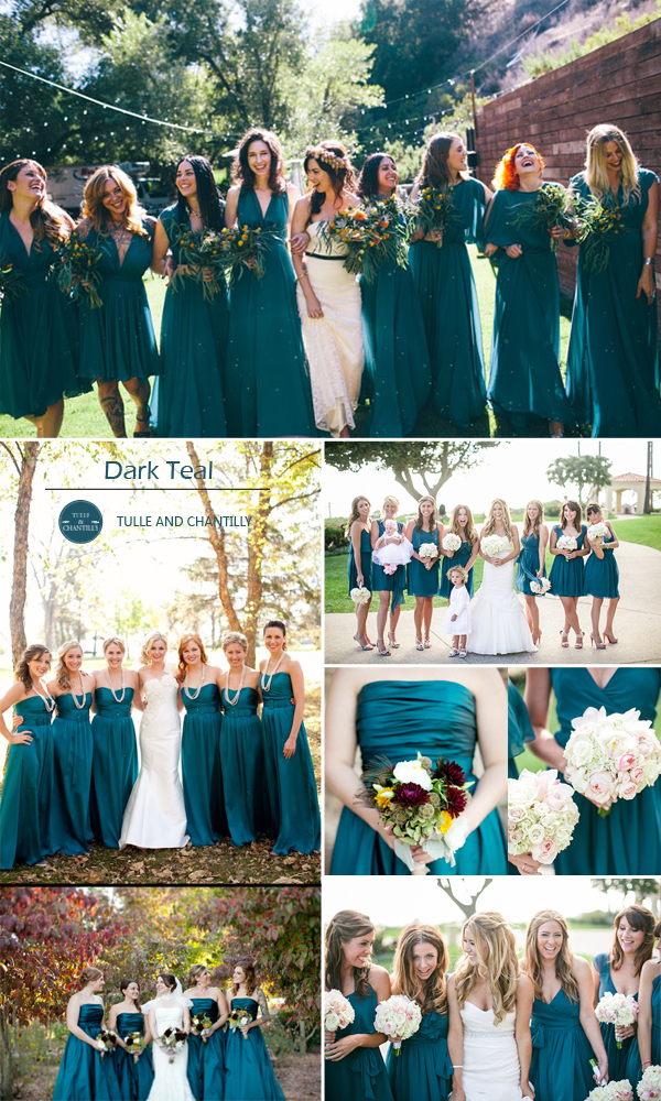 Fall Wedding Color Palette 2017