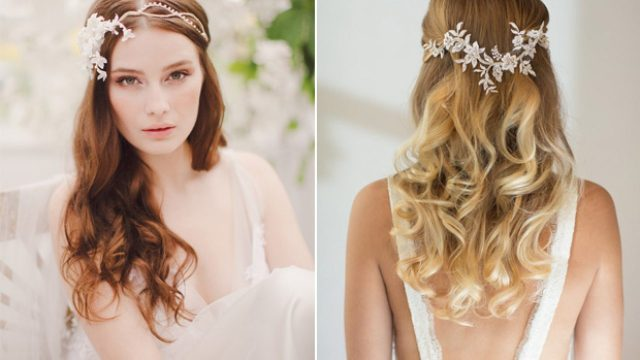 18 stunning wedding hair accessories for brides wearing