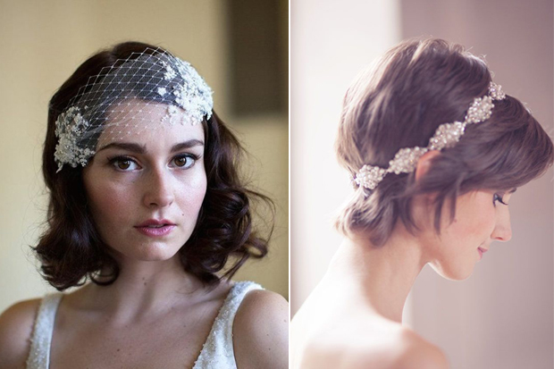16 Romantic Wedding Hairstyles For Short Hair