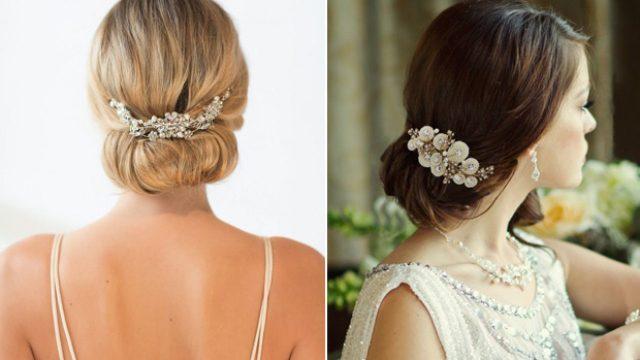 20 stunning bridal hair accessories | weddingsonline