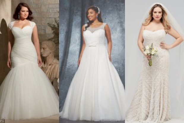 Incredibly Beautiful Wedding Dresses For Curvy Brides