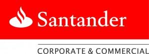 Santander Red & White logo