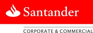 Santander Red & White logo