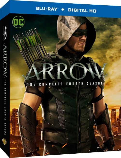 Image result for ARROW - SEASON 4 BLU-RAY