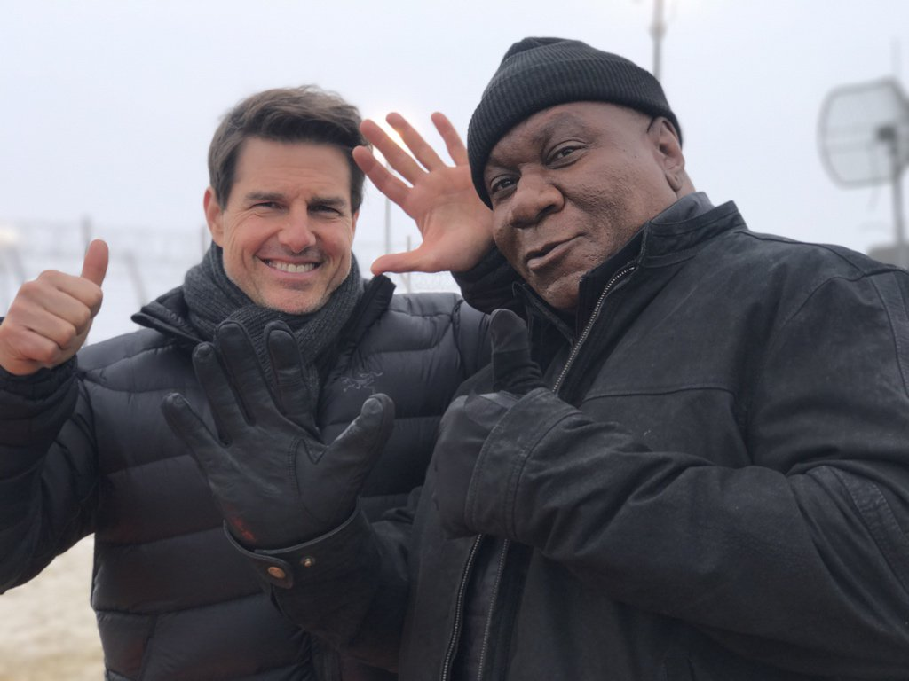 Image result for Tom Cruise and Ving Rhames