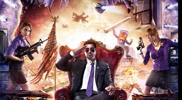 Saints Row 4 Gets Impressive Cover Artwork Saints Row IV Character Creation Tool Now Available