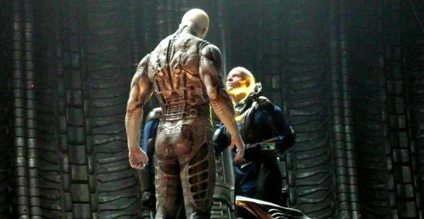 prometheus david engineer  span The Top 10 Movie Moments Of 2012 So Far