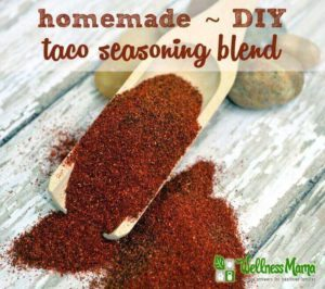 Homemade DIY Taco Seasoning Blend Recipe 300x266