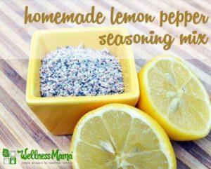Homemade Lemon Pepper Seasoning Mix